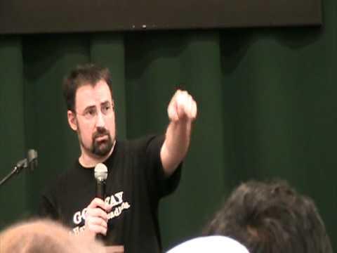 Jim Butcher Ghost Story Tour - Q&A At Tribeca Barnes & Noble