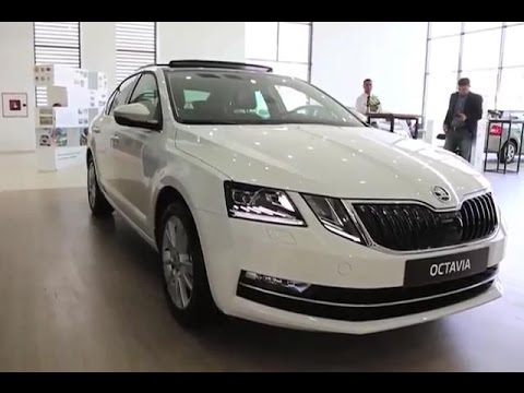 actualit s lancement de la skoda octavia restyl e au maroc youtube. Black Bedroom Furniture Sets. Home Design Ideas