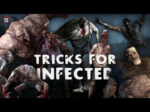 Top 10 Tricks for INFECTED ★ Left 4 Dead 2
