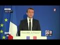 """""""Présidentielle 2017"""" : Le discours d'Emmanuel Macron en intégralité (France 2)"""
