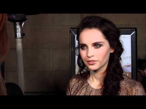 Felicity Jones 'Like Crazy' Movie Premiere Interview