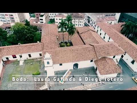 BODA LOTERO GALINDO ,Wedding drone Cali Colombia