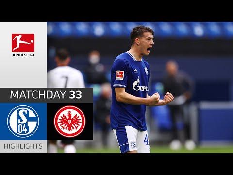 Schalke Eintracht  Frankfurt Goals And Highlights