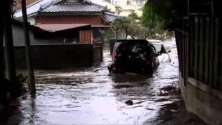【東日本大震災】茨城県北茨城市磯原町における津波被害の様子