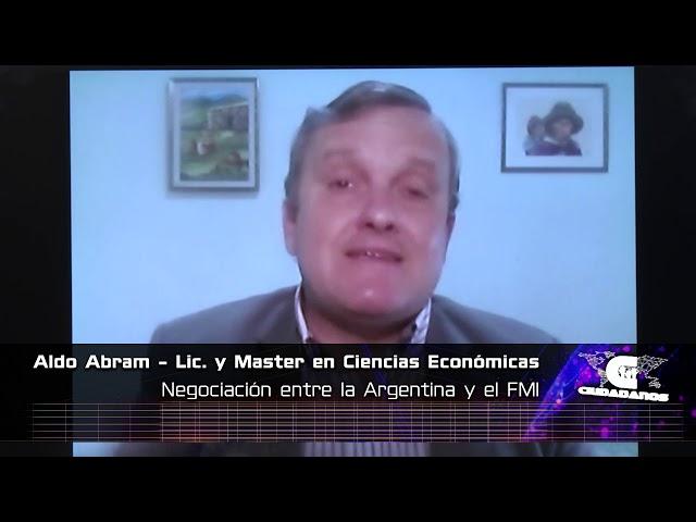 Aldo Abram, economista y director de la Fundación Libertad y Progreso - Ciudadanos 01 11 2020