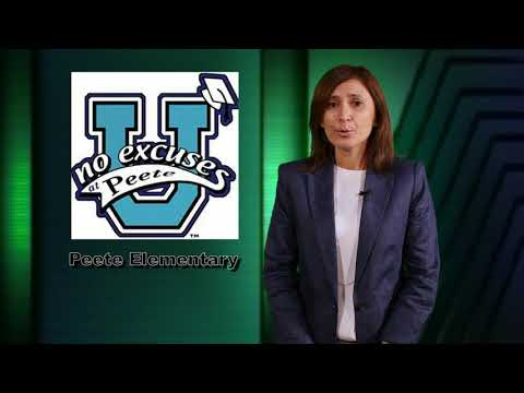Peete Elementary School - Principal Message (English)