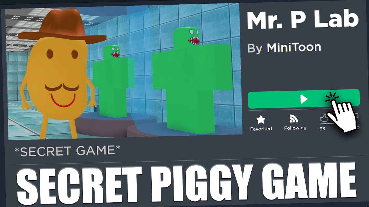 Secret Piggy Game Discovered Mr P Lab Youtube