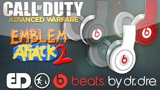 Advanced Warfare Emblem: BEATS BY DRE. Customizable (Emblem Attack 2)