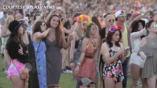 (VIDEO) Sarah Hyland Cozying With New Boyfriend At Coachella 2015