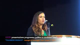 Presentazione lista Tutti per Locri - Calabrese Sindaco (by EL)