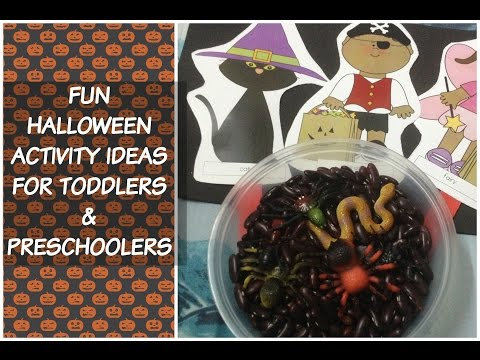 Cute and Fun Halloween activity ideas for children! (with FREE Resource list)!