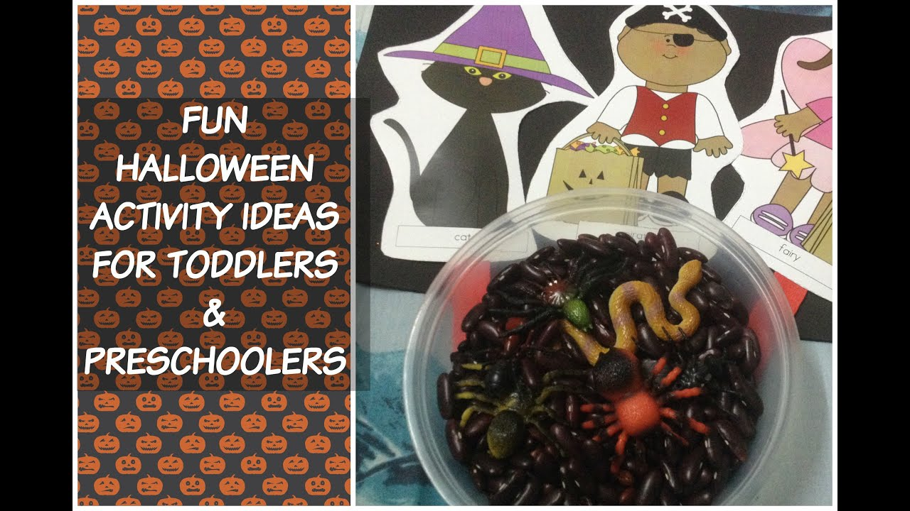 Cute And Fun Halloween Activity Ideas For Children With Free Resource List