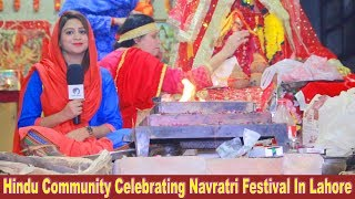 Hindu Community Celebrating Navratri Festival in Pakistan | Sana Amjad