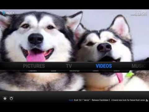 Customize Kodi Home Screen/Add Shortcuts