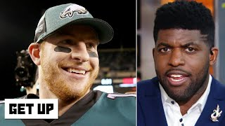 Carson Wentz reporting his concussion is the 'gutsiest thing I've seen' - Emmanuel Acho | Get Up