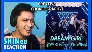SHINee 샤이니 'Dream Girl' MV & Dance Practice REACTION