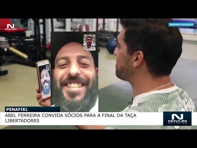 Abel Ferreira convida sócios para a final da Taça Libertadores