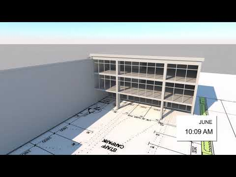 Process Systems Solar Study - Outside View