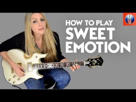 How to Play Sweet Emotion - Awesome Aerosmith Guitar Lesson - YouTube