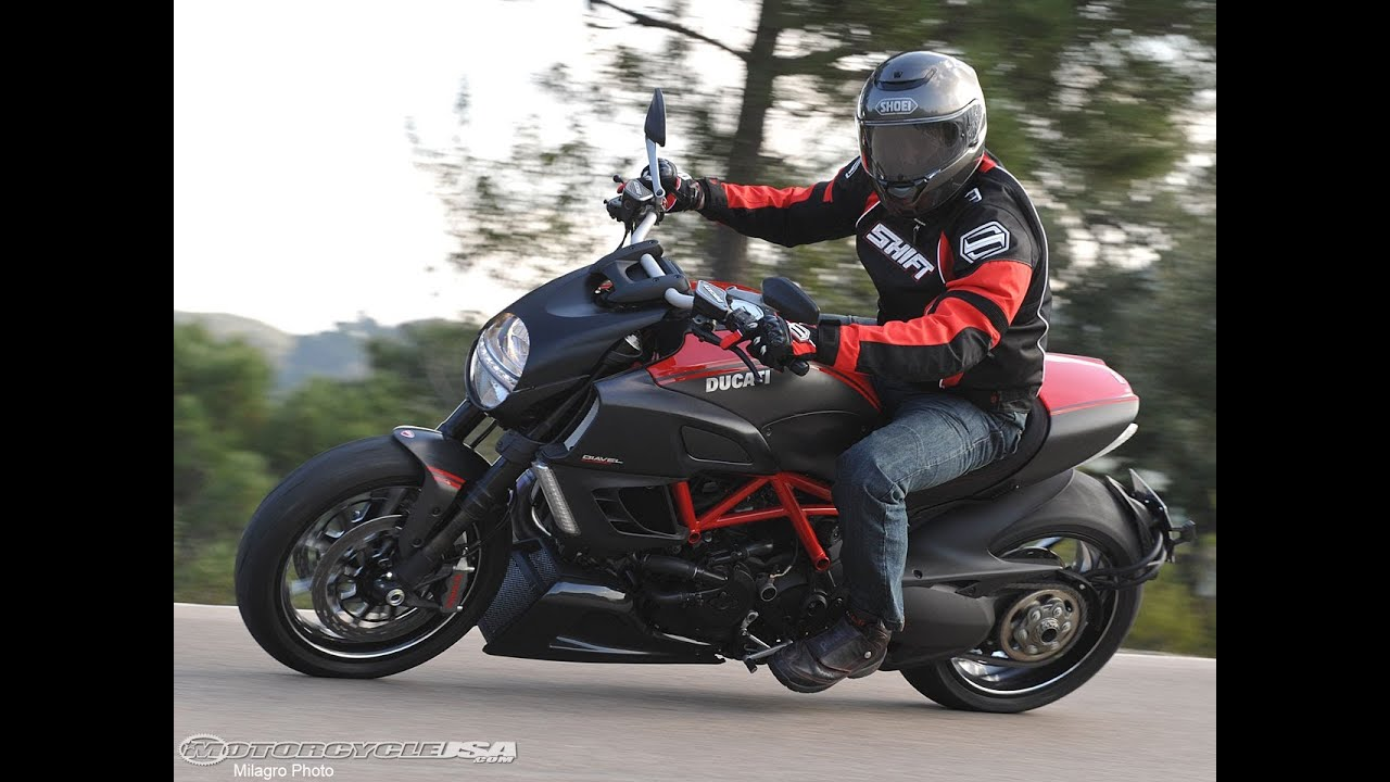 2011 ducati diavel first ride - motousa - youtube