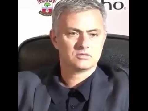 Funny moment, Mourinho:
