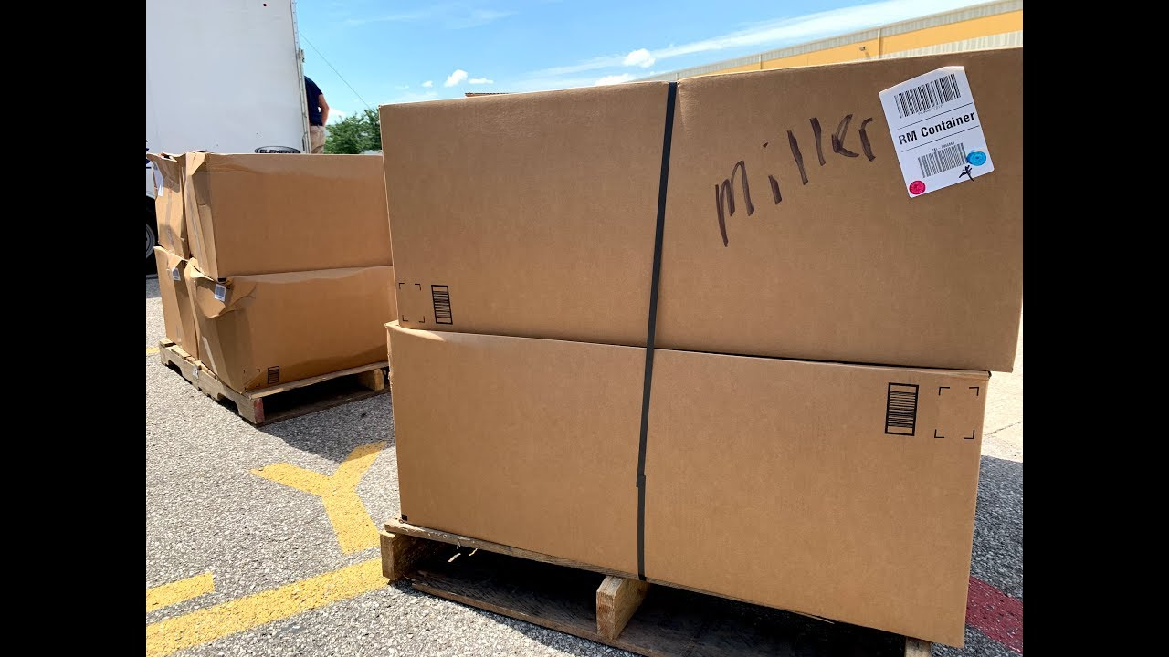 I bought TWO 450 Pound Amazon Customer Return Pallets Valued at OVER $2,500