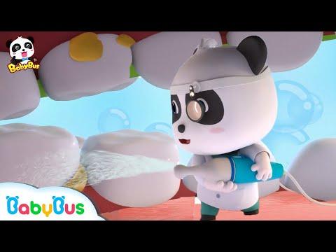 Kiki & Miumiu Menjadi Dokter Gigi Kecil   Lagu Anak - anak   BabyBus Bahasa Indonesia