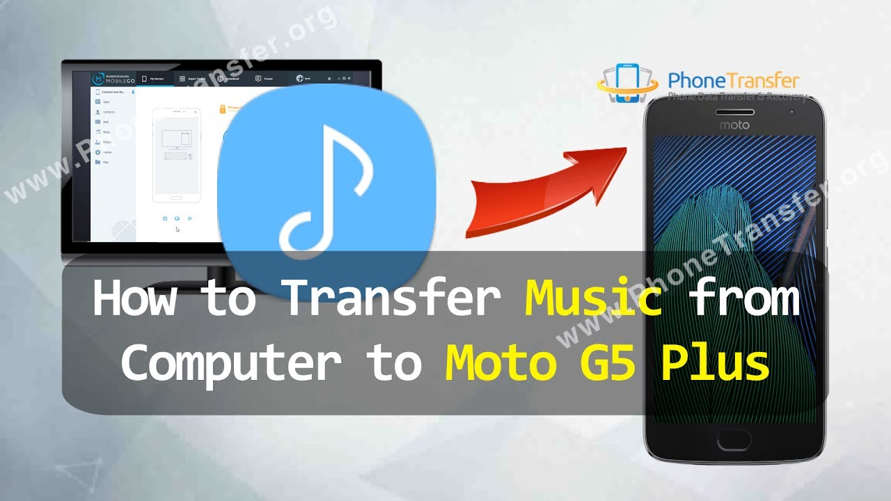 how to put music on moto g5