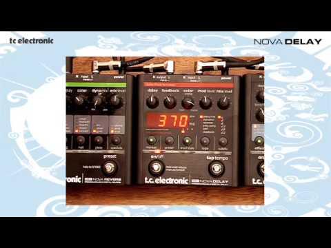 TC Electronic Nova Delay demo with Richard Morse