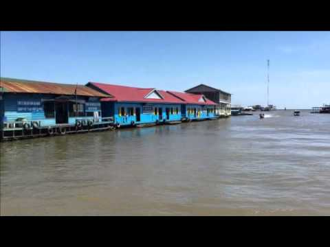 Visit Tonle Sap Floating village | Tonle Sap Lake Cambodia | Cambodia Travel #3