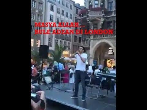 Masya Allah... BULE ADZAN Merdu saat konser musik di London