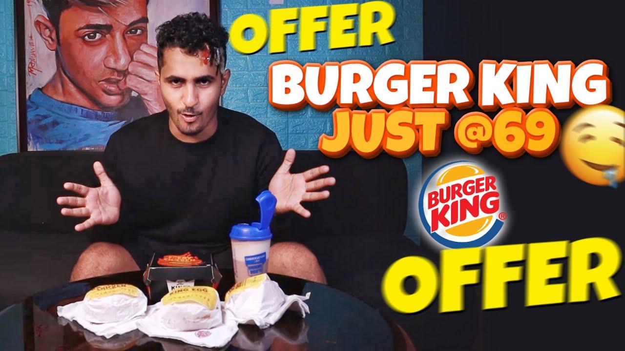 BURGER KING 69 Offer 😱