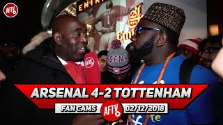 Arsenal 4-2 Tottenham | No Ozil No Problem! (Kelechi)