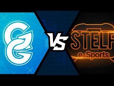 GG BLUE vs TEAM STELF - TORNEIO SQUAD PS4 - QUARTAS DE FINAL