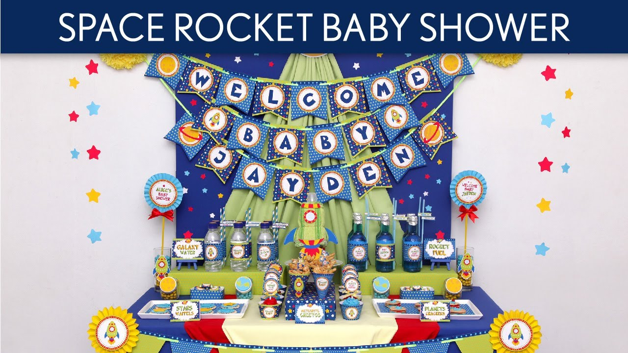 space rocket baby shower ideas space rocket s22 youtube
