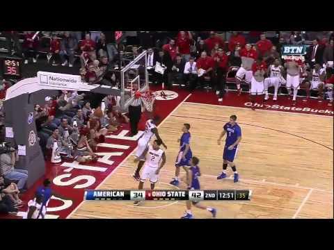 "Ohio State's Sam ""Slam"" Thompson Dunks in 2013-14"