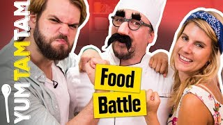 FOOD BATTLE #4 // Hot Dog Challenge // yumtamtam