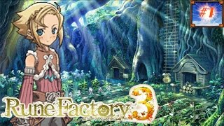 Rune Factory 3 Episode 1 Time for farming again!