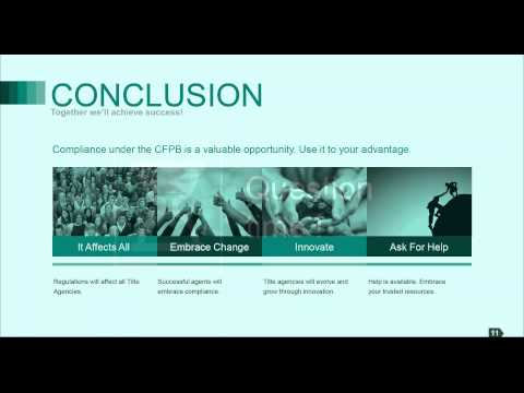 Title Topics:  Turn Compliance Into An Advantage: Marketing And Communication Under The CFPB
