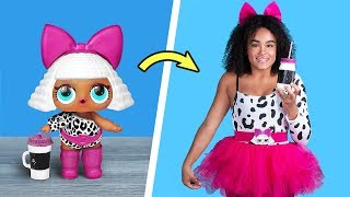 LOL Surprise Dolls In Real Life / 10 LOL Surprise Hairstyle And Clothes Ideas