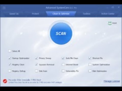 advanced systemcare 10.5 pro free download