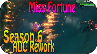 Miss Fortune Spotlight - Season 6 ADC Rework auf dem PBE