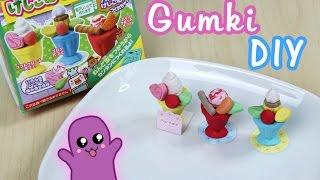 Gumki do ścierania DIY desery - Kutsuwa eraser kit #4