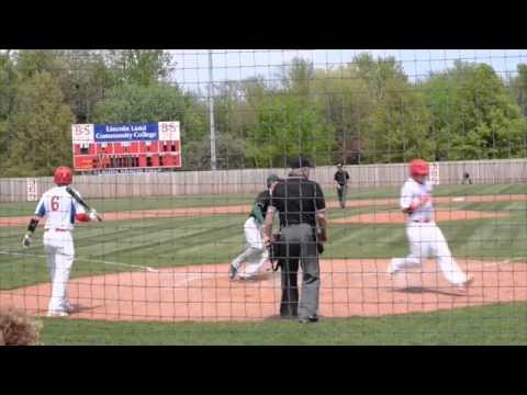 05-02-15 Lincoln Land Baseball Vs Danville Game1
