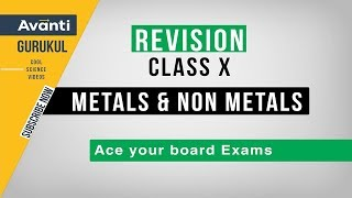 Metals and Non Metals | Learn Reactivity Series | CBSE Class 10 Revision | Important Questions