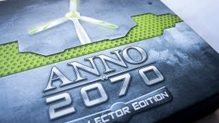Anno 2070 Collectors Edition Unboxing and First Look