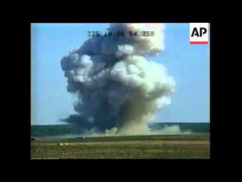 US Air Force tests massive bomb