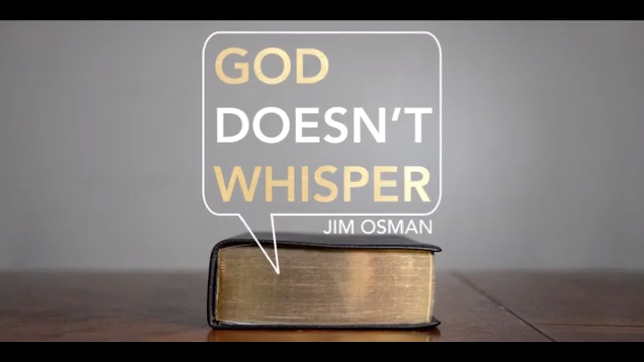 God Doesn't Whisper | A New Series Coming to AGTV