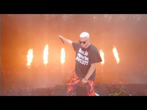 Youtube: DJ Snake – No Option ft Burna Boy. Live.