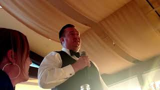 Blue's Best Man Speech for Freedom at his wedding. 9.15.2018